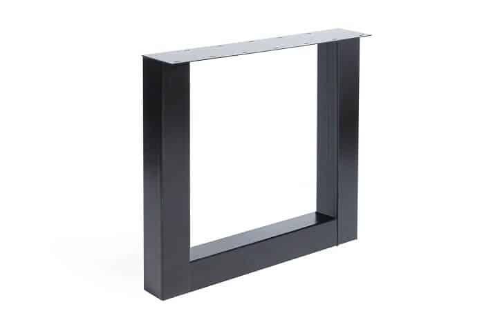 Eettafel U frame