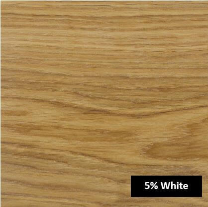 5% White olie eikenblad