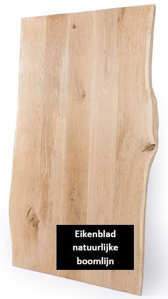 Eikenblad natuurlijke boomlijn