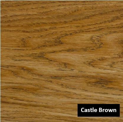 Olie Castle brown eiken
