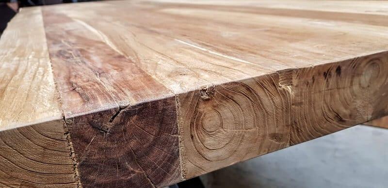 Elmwood tafelblad Elm hout