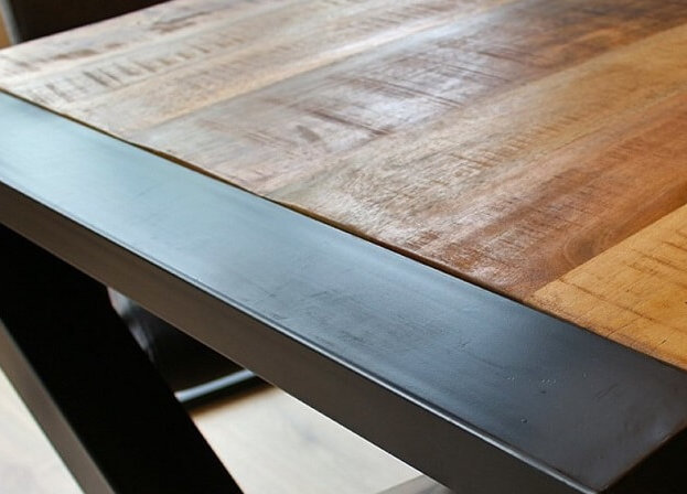 Mangohouten tafels
