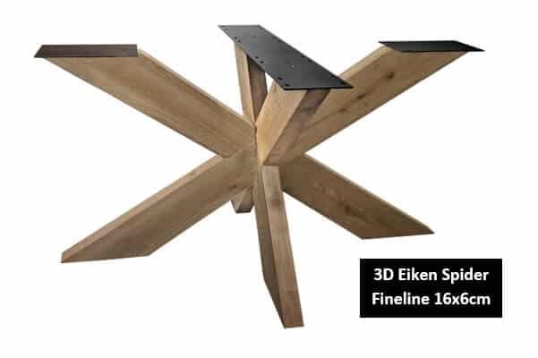 3D Eiken Spider fineline 16x6cm