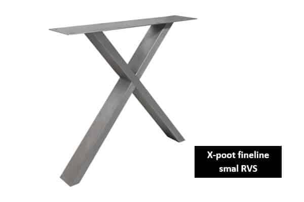 X poot fineline smal RVS