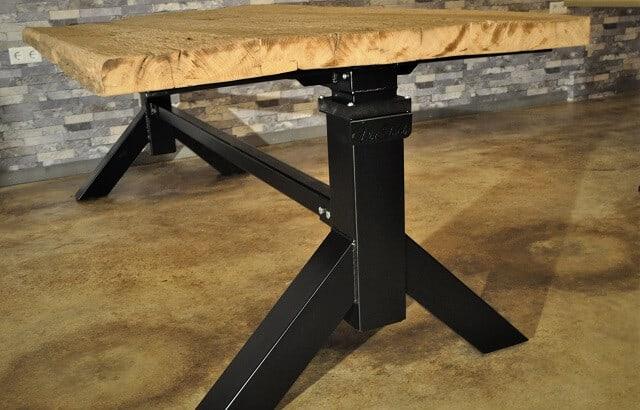 Elektrische zit sta tafel Vintable exclusieve tafel header
